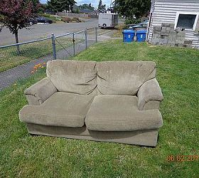 Upcycle Indoor Love Seat to Outdoor Couch