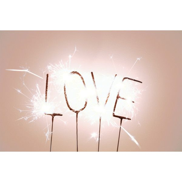 LOVE sparkler ❤ liked on Polyvore