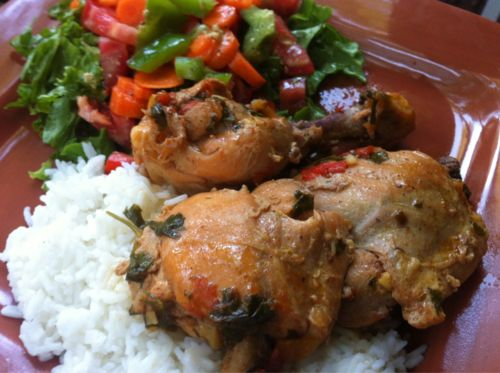 Sofrito Chicken Stew | Poultry | Pinterest