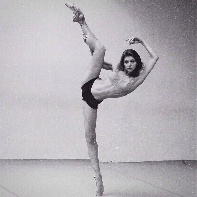 Ukrainian ballerina Oksana Bondareva