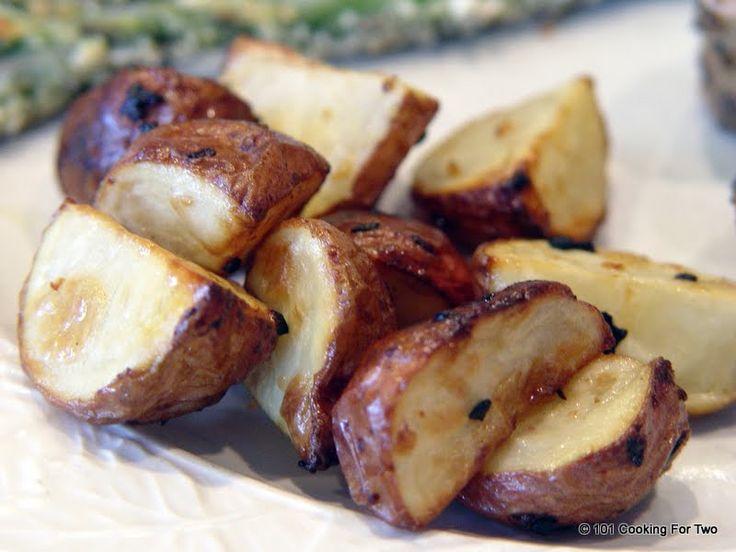 Easy Roasted Potatoes With Garlic Recipe — Dishmaps