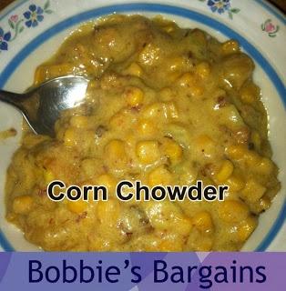Slow Cooker Corn Chowder | slow cooker | Pinterest