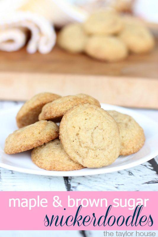 Truvia, Snickerdoodles Recipe, Maple Brown Sugar Snickerdoodles