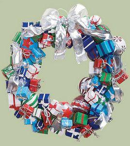 presents duct tape wreath joann's tut