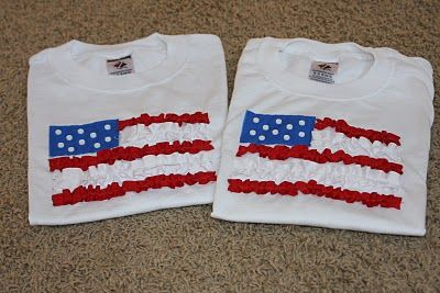 4th of july homemade shirts