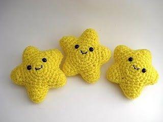 Amigurumi Crochet Diagram : Pattern diagram: Cute Stars Crochet Amigurumi Pinterest