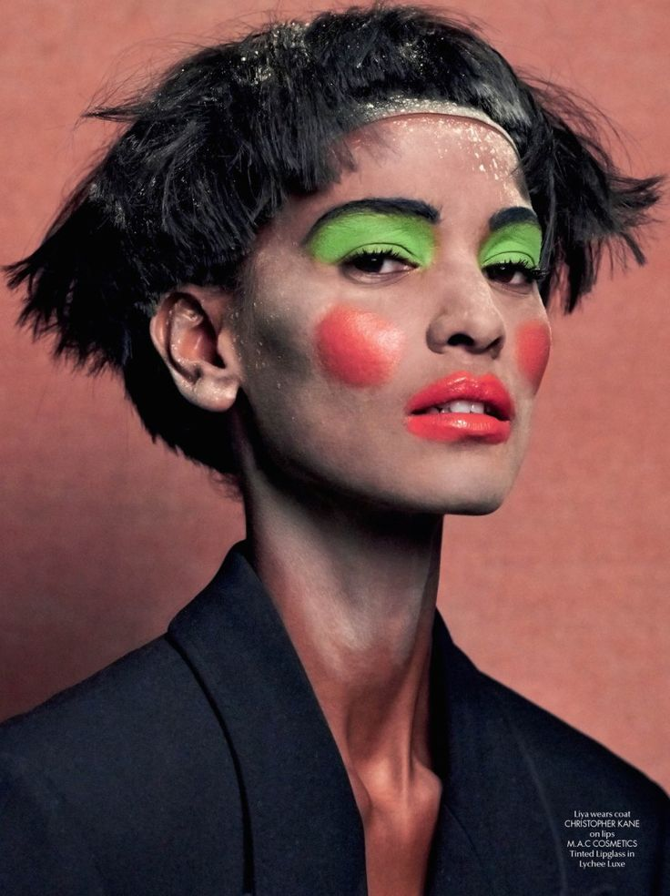Faces: #LiyaKebede by #JohnnyDufort for #CRFashionBook #5 F/W 2014-2015