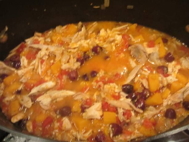 Hearty Chicken Stew with Butternut Squash & Quinoa Recipe! SOOO GOOD!