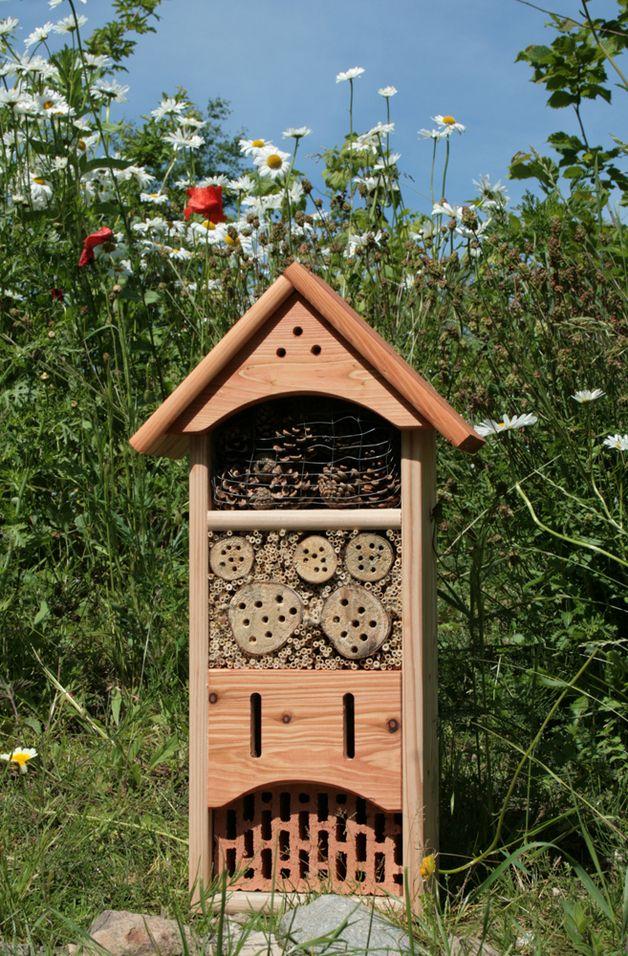insektenhotel bienenhotel schmetterlingshaus. Black Bedroom Furniture Sets. Home Design Ideas