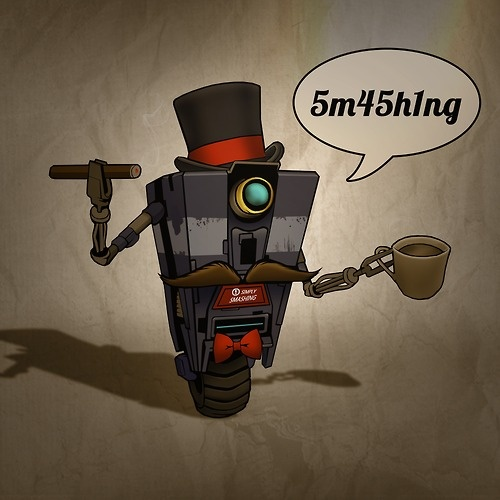 sir claptrap my fav geeky comic book video game and