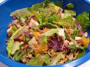 Asian Orange Chicken Salad Recipe. A lot like Wendy's Asian Chicken ...