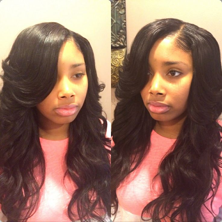 Quick Weave Styles With No Leave Out Hairstylegalleries Com