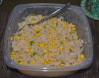 Quinoa with Corn and Scallions | Cooking With Willis | Pinterest