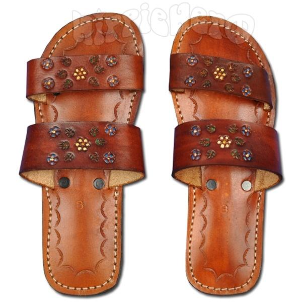 Unique Women39s Genuine Authentic Huaraches Mexican Sandals Flip Flop Shoes