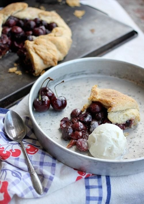 Bourbon Soaked Cherry Pie | Color Inspiration: Cherry Cobbler | Pinte ...