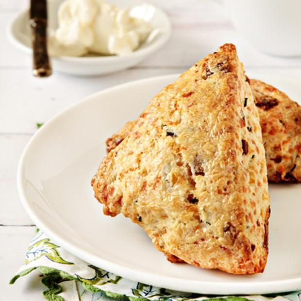 Bacon And Cheddar Scones | Scones (Sweet & Savory) | Pinterest