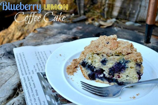 blueberry lemon coffee cake | Cakes & Pies | Pinterest