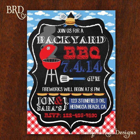 4th of july backyard bbq