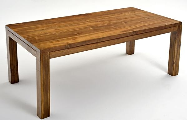 Woodland Creek teak farm table  Turtle House inspiration  Pinterest