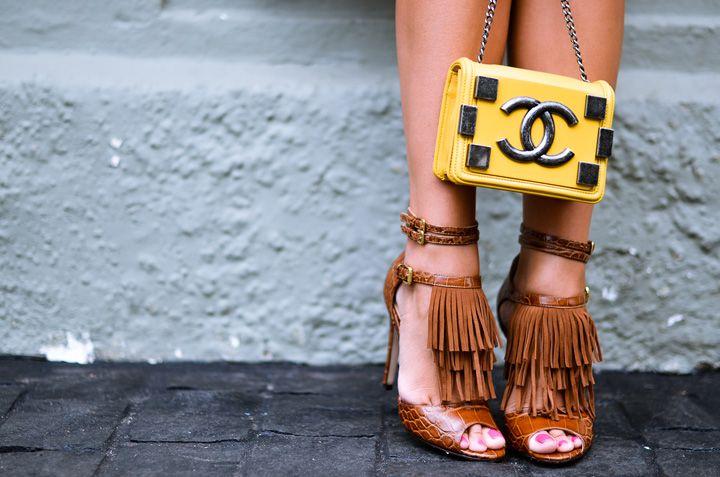 Meu look – Estampa + franjas! - Blog da Thássia