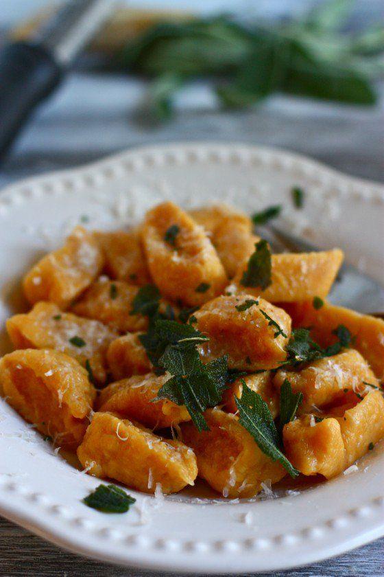 Butternut squash gnocchi | Food and Recipes | Pinterest