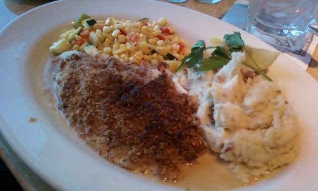 Pecan Crusted Catfish from Cheesecake Factory