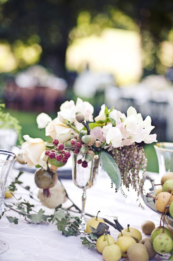 Fruit centerpieces theming and tablescaping pinterest