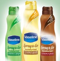 to Win 1 of 600 FREE Vaseline Spray & Go  | Instant Win Game