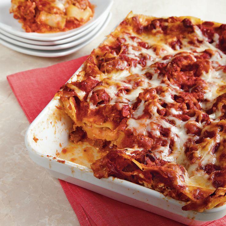 Love on a Plate: Turkey Sausage Lasagna : looks soo good!!! Gonna try ...
