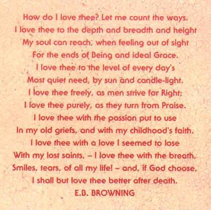 essay how do i love thee