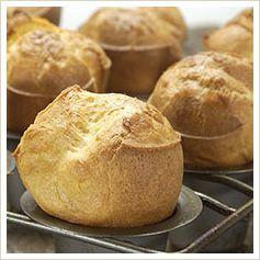 Gluten-Free Popovers recipe | gluten free | Pinterest