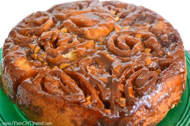 Caramel Apple Sticky Buns | Recipe