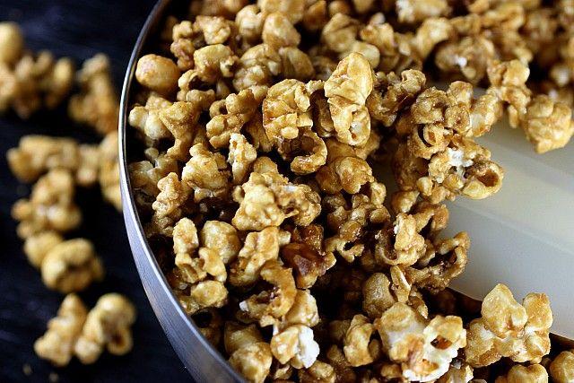 banana maple caramel corn | Favorite Recipes | Pinterest