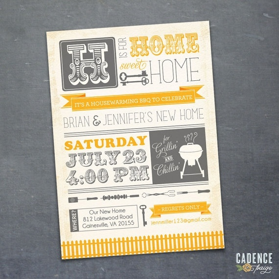 House Warming Invites Party Planning Pinterest