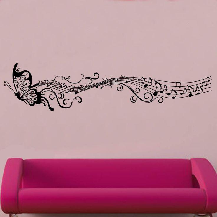 Music Note Wallpaper For Bedroom - Www.