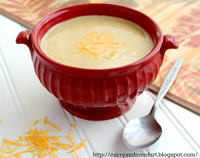 Cauliflower Cheddar Cheese Soup | Favorite Recipes | Pinterest