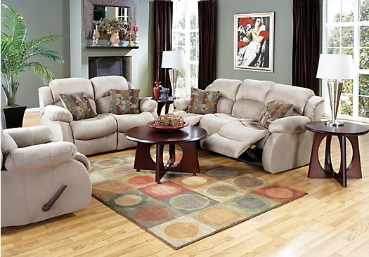 Shop for a colson 7 pc living room at rooms to go find living room