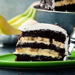 Tort bananowy - Przepis