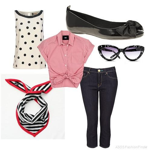 photo of girls 50's outfits № 4042