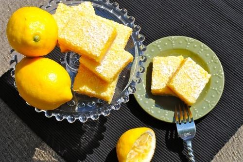 Whole Lemon Bars | Get in my belly! | Pinterest