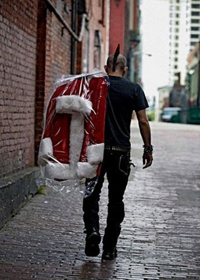 there is a Santa Claus......and he's a badass!
