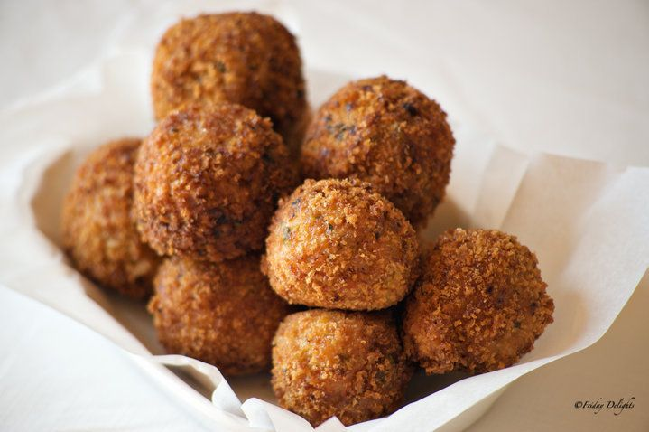Spicy Shrimp Boudin Balls Recipe | What's Cooking | Pinterest