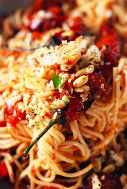 Spicy Spaghetti | Yummy | Pinterest