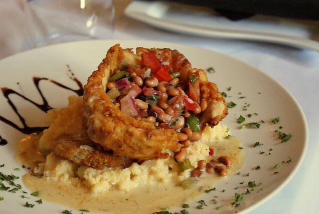 Buttermilk Chicken With Peach-Tomato Salsa Recipes — Dishmaps