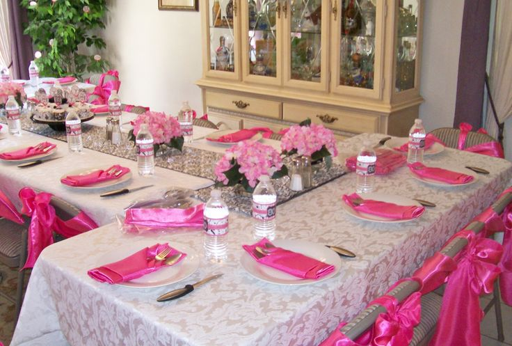 80th Birthday Table Decoration Ideas Photograph