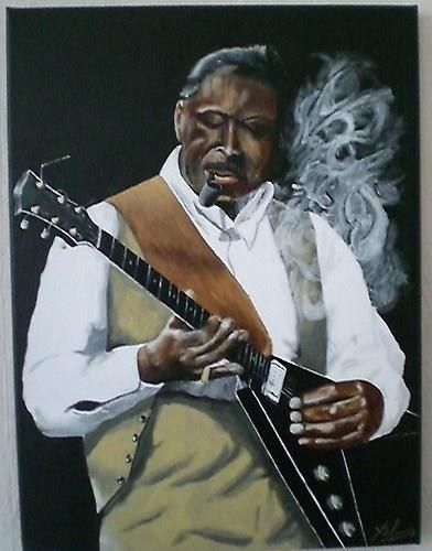 how to play bb king songs on guitar