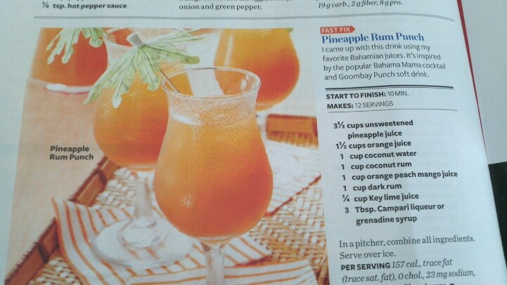 Pineapple Rum Punch | Food | Pinterest
