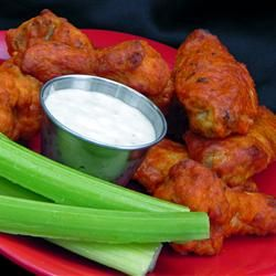"Restaurant-Style Buffalo Chicken Wings | ""My wife said that these are ..."