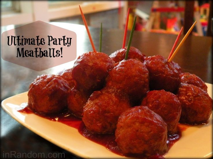 The Ultimate Party Meatballs Recipe!