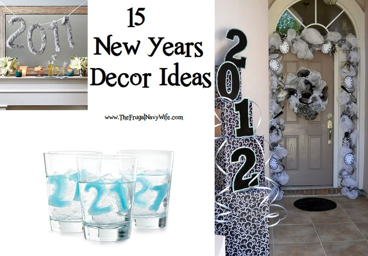 15 New Years Party Decor Ideas #DIY #Party | New Years